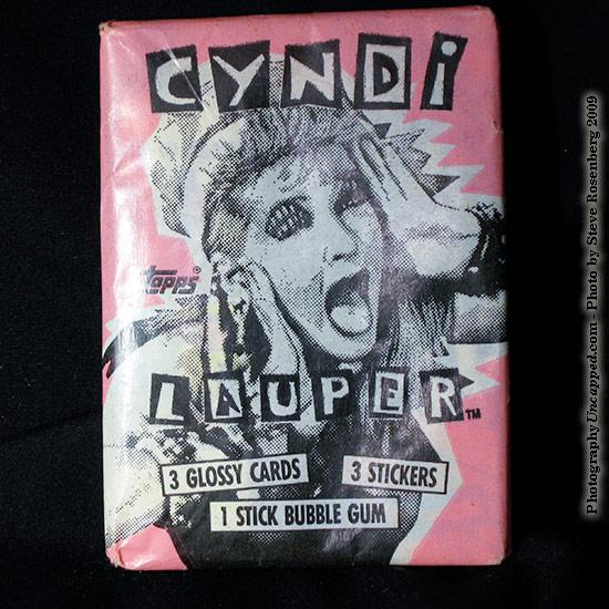 Cyndi Lauper Bubble Gum pictures