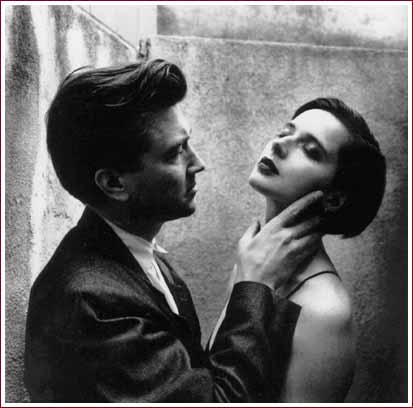 David Lynch and Isabella Rosellini