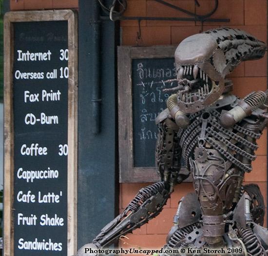 Internet Access - Fruit Shake - Sandwiches