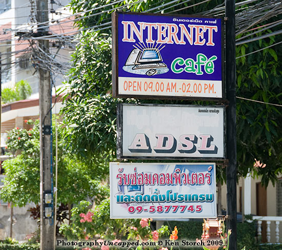 Internet Cafe Open 09.00AM - 02.00PM