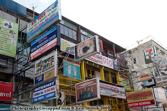 Internet and Laundry offered on Khao San Road - Banglamphu - Bangkok