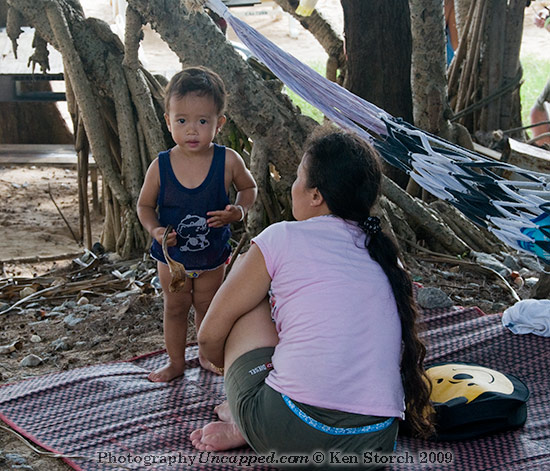 Ambivalent Boy at the beach - Kata Phuket