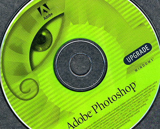 Adobe Photoshop Upgrade Disc