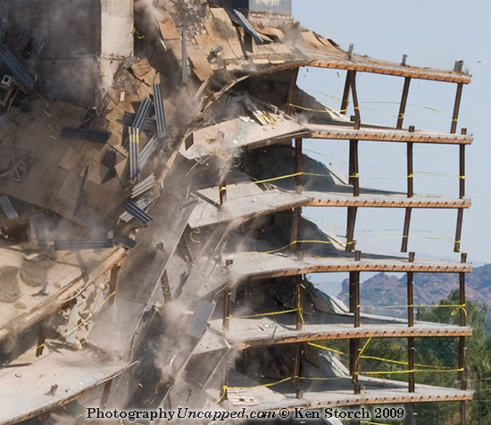 Detail of the Implosion