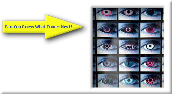 Can You Guess What's Next? - Too Many Eyes!