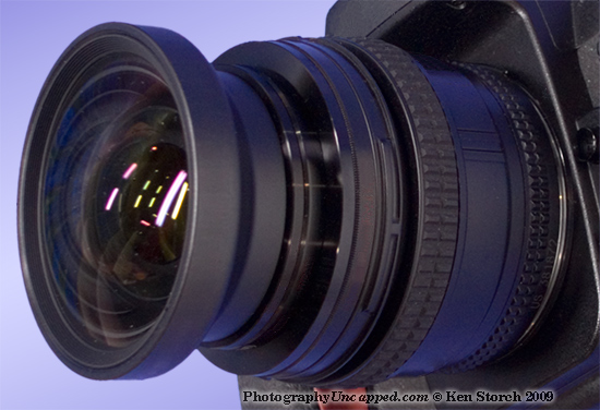 Super-wide Angle Lens Assembly