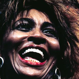 Henry Diltz (American, b. 1938). Tina Turner, Universal Amphitheater, Los Angeles (detail), October 1985. Chromogenic print © Henry Diltz