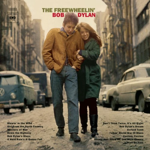 Don Hunstein, Bob Dylan, with then-girlfriend, Suze Rotolo