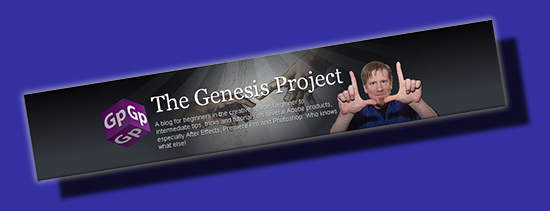 The Adobe Genesis Project - An unofficial interpretation of the site header