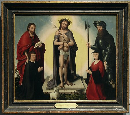 The Man of Sorrows with Saints and Donors  © The University of Arizona Museum of Art