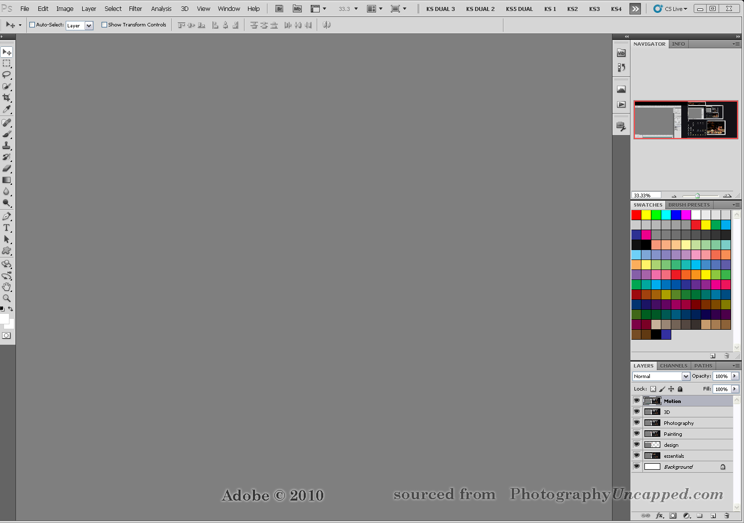how to use photoshop cs5