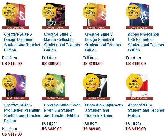 Details: Get 60% off Adobe Creative Cloud Complete coolninjagames.ga for students and teachers. Valid only for eligible persons who are 13+ and older and teachers can purchase an Adobe Creative Cloud Complete subscription for the reduced price of $/year ($/month) for the first year.