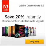 Upgrade NOW! with the Adobe SPECIAL Discount - Upgrade Your Adobe Applications - 20% OFF Standard Prices