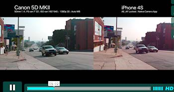 iPhone 4S vs Canon 5D MKll by Robino Films on Vimeo