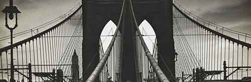 Alexander Alland, Untitled (Brooklyn Bridge), 1938