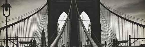 Alexander Alland, Untitled (Brooklyn Bridge), 1938