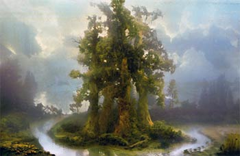 Kim Keever Forest 70b - David B. Smith Gallery