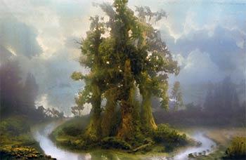 Kim Keever Forest 70b - David B. Smith Gallery