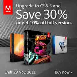 Save 30% on Adobe Upgrades Now