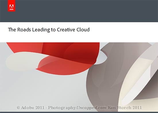 Adobe CS6 Creative Cloud Will Be Available