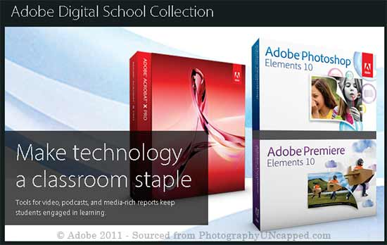Adobe Digital School Collection K-12 Site License