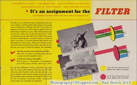 Kodak Filters - It's an assignment for the FILTER - This looks like a job for Superphotographer!