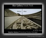 Adobe PhotoshopSneak Peek #6 - Iris Blur Gallery - New Feature Expected in CS6