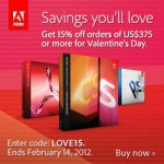 Adobe Valentine's Day Sale - Coupon