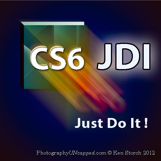 JDI - Just Do It - Photoshop CS6 - Public Beta - Un Official Logo