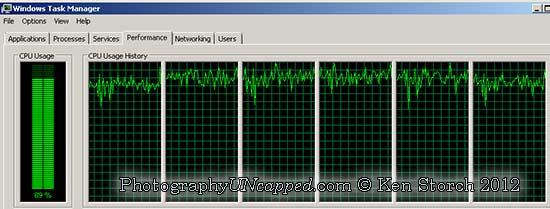 Photoshop CS6 is Multithreaded and Using All 6 Multi-Core CPU Processors