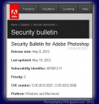 Photoshop Security Vulnerability in CS5 and Earlier Versions CS4 CS3 CS2 on Mac + Win - CS6 Upgrade Considered Safe?