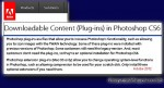 Adobe Download Content - Plugins for Photoshop CS6