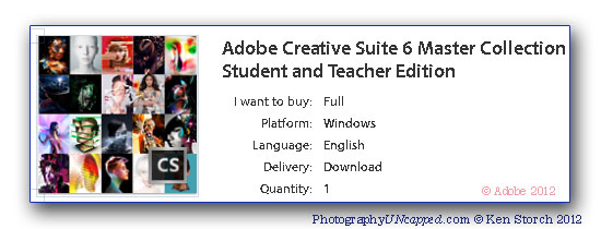Adobe Master Collection Coupon Discount for Students + Teachers