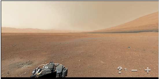 Hi-Res Panoramic of Mars from panoramas.dk