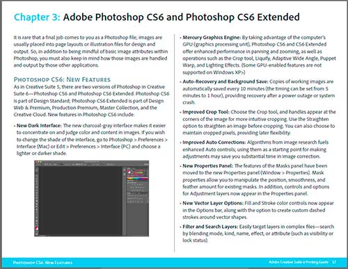 The new Adobe CS6 Printing Guide - Free Download