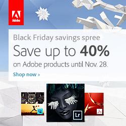 Adobe Balck Friday 40% Off