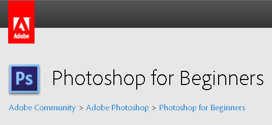 New Forum – Photoshop for Beginniners