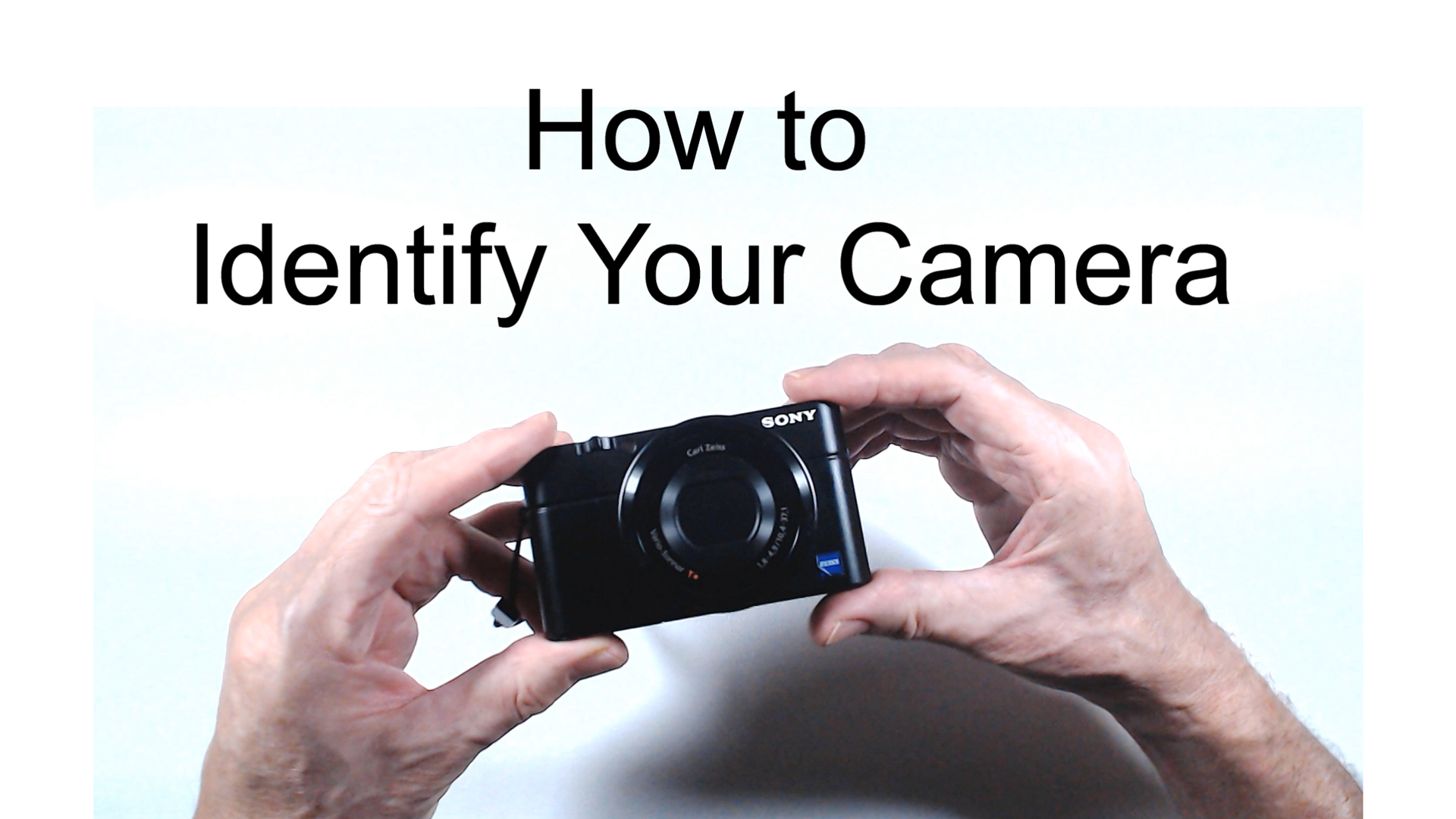 How To Identify Your Camera Make and Model