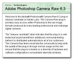 Adobe Camera RAW 6.3 Release Candidate Available for Download and for Lightroom 3.3
