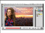Photoshop CS5 Refine Edge Select Hair Video on Edge Detection and Compositing