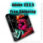 Adobe Creative Suite 5.5 CS5.5  Free Shipping through May 31, 2011